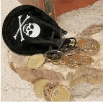 Pirate Coin Bags